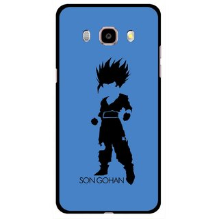 Snooky Printed Son Gohan Mobile Back Cover For Samsung Galaxy J5 (2016) - Multicolour