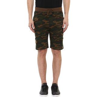 Urbano Fashion Men's Olive,Green Shorts