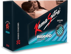 Kamasutra Ribbed 40 Pieces Combo