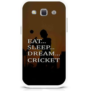 Snooky Printed All Is Cricket Mobile Back Cover For Samsung Galaxy 8552 - Multicolour