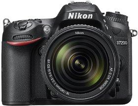 Nikon D7200 24.2 MP Digital SLR Camera (Black) With AF-