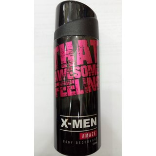 X-MEN AMAZE THAT AWESOME FEELING BODY DEODORANT.