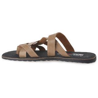 643ac284ffe Buy Paragon Max Men s Formal Open Toe Sandals (Camel) Online - Get 35% Off