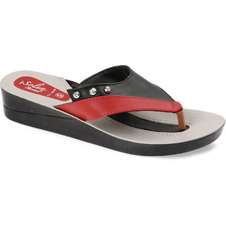 c90e2ac81ab0f Buy Paragon Solea T-Strap Sandals for Women (Red) Online - Get 50% Off