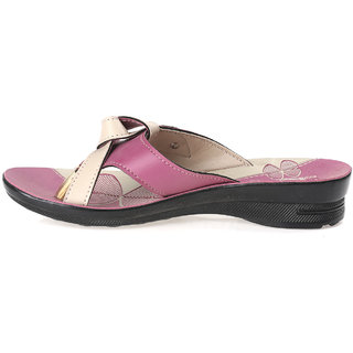 a07140309646 Buy Paragon Solea One Toe Sandals for Women (Pink) Online   ₹239 ...