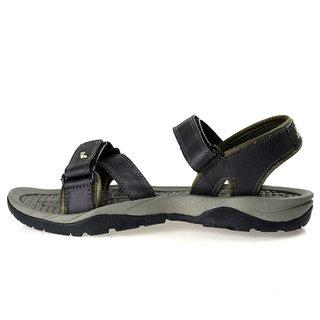 8d368ba11 Buy Paragon Stimulus Sports Sandals for Men (Black) Online   ₹519 ...