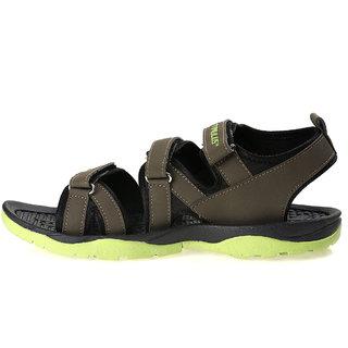 185f3bcd7 Buy Paragon Stimulus Men s Velcro Sports Sandals (Green) Online ...