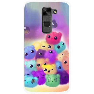 Snooky Printed Cutipies Mobile Back Cover For Lg Stylus 2 - Multi