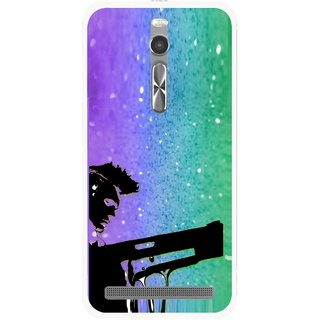 Snooky Printed Sparkling Boy Mobile Back Cover For Asus Zenfone 2 - Multi