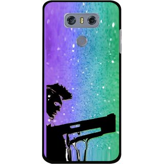 Snooky Printed Sparkling Boy Mobile Back Cover For LG G6 - Multi