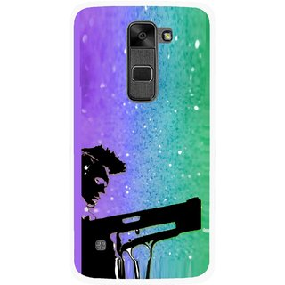 Snooky Printed Sparkling Boy Mobile Back Cover For Lg Stylus 2 - Multi