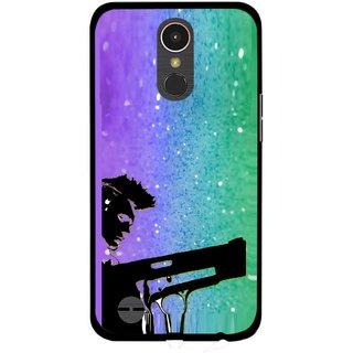 Snooky Printed Sparkling Boy Mobile Back Cover For LG K10 2017 - Multi