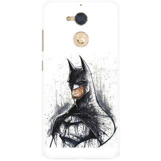 Snooky Printed Angry Batman Mobile Back Cover For Gionee S6 Pro - Multi