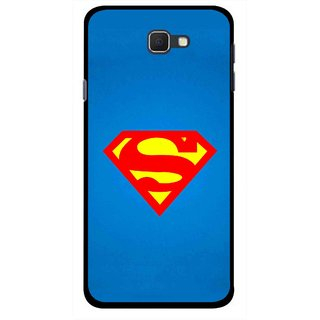 Snooky Printed Super Logo Mobile Back Cover For Samsung Galaxy J5 Prime - Multicolour