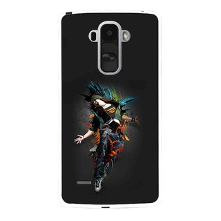 Snooky Printed Music Mania Mobile Back Cover For Lg G4 Stylus - Multi