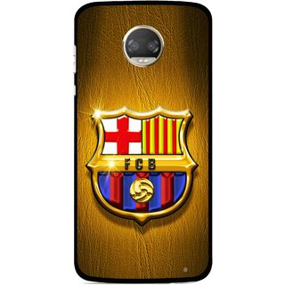 Snooky Printed FootBall Club Mobile Back Cover For Motorola Moto Z2 Play  - Multicolour