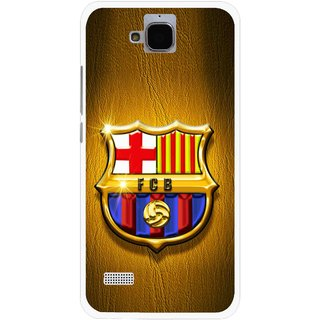 Snooky Printed FootBall Club Mobile Back Cover For Huawei Honor Holly - Multicolour
