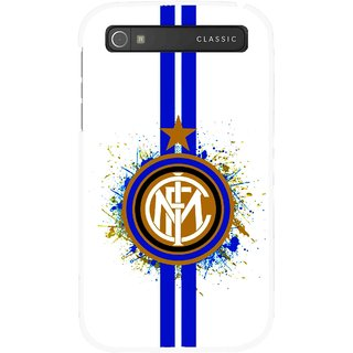 Snooky Printed Sports Lovers Mobile Back Cover For Blackberry Classic - Multicolour
