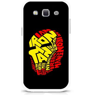 Snooky Printed I am Man Mobile Back Cover For Samsung Galaxy 8552 - Multicolour