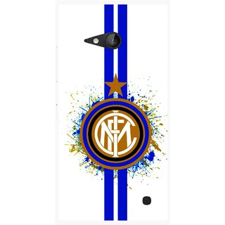 Snooky Printed Sports Lovers Mobile Back Cover For Nokia Lumia 730 - Multicolour