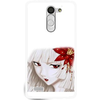 Snooky Printed Chinies Girl Mobile Back Cover For Lg L Fino - Multi