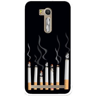 Snooky Printed Smoking Mobile Back Cover For Asus Zenfone Go ZB551KL - Multi