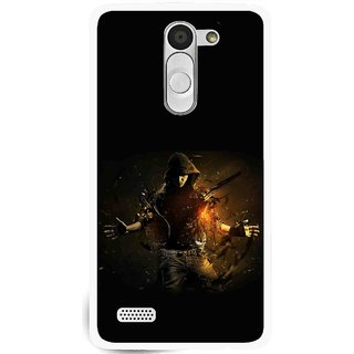 Snooky Printed Dancing Boy Mobile Back Cover For Lg L Fino - Multi