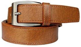 Stylish Tan Faux Leather Belt