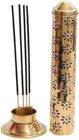 Brass King Size Beautiful Agarbatti Stand Holder  ( 12 Inch X 4 Inch, No of Pieces 1 ) By Fashion Bizz
