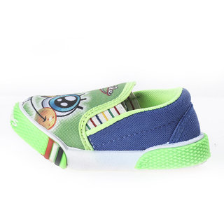 Paragon Fookids Green Slip On Shoes for Kids