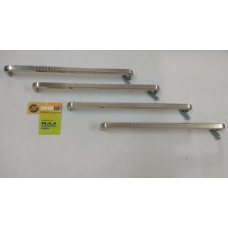 ONE10 D HANDLE CADBURY  DOTTED 192 MM (Set of 4pcs.) WITH SCREWS