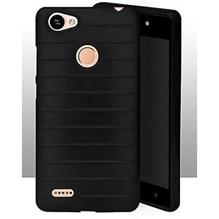 newest collection 0b693 3eadc ECellStreet Protection Brick Soft Back Cover For Itel Wish A41 Plus / A41 +  - Black