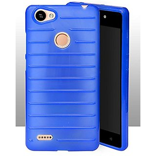 ECellStreet Protection Brick Soft Back Cover For Itel Wish A41 Plus / A41 +  - Blue