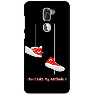 Snooky Printed Attitude Mobile Back Cover For Coolpad Cool 1 - Multi