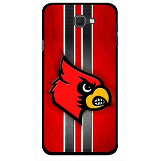 Snooky Printed Red Eagle Mobile Back Cover For Samsung Galaxy J5 Prime - Multicolour