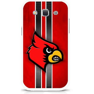 Snooky Printed Red Eagle Mobile Back Cover For Samsung Galaxy 8552 - Multicolour