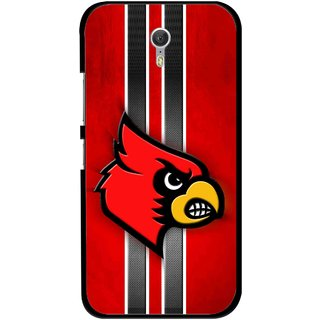 Snooky Printed Red Eagle Mobile Back Cover For Lenovo Zuk Z1 - Multicolour