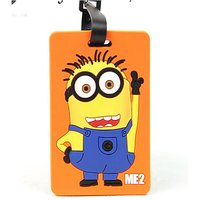 Despicable Me Printed Soft PVC Luggage Tag/travel Bag Tag Boy/girl Gift Funcky