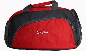 Skyline Unisex Gym Bag-With Warranty-751 Red