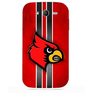 Snooky Printed Red Eagle Mobile Back Cover For Samsung Galaxy Grand I9082 - Multicolour