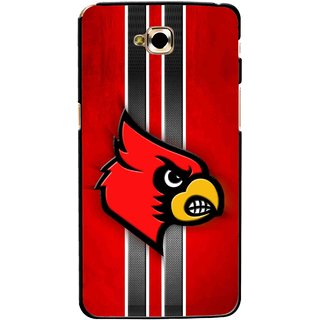 Snooky Printed Red Eagle Mobile Back Cover For Lg G Pro Lite - Multicolour