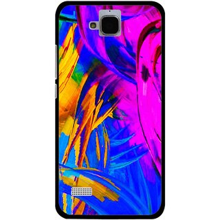 Snooky Printed Color Bushes Mobile Back Cover For Huawei Honor Holly - Multi
