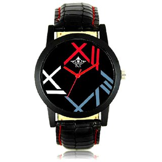 Royal Number Look Round Dial Men's Analog  Watch By Google Hub