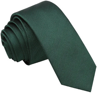 Solid Tie  DARK GREEN