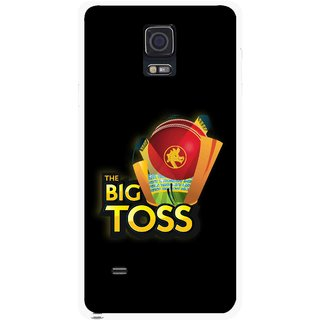 Snooky Printed Big Toss Mobile Back Cover For Samsung Galaxy Note 4 - Multicolour