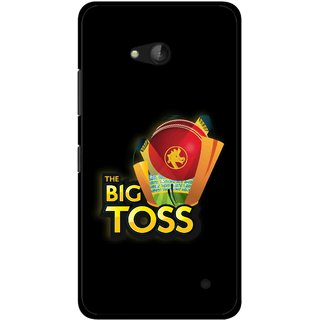 Snooky Printed Big Toss Mobile Back Cover For Nokia Lumia 640 - Multicolour