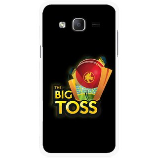Snooky Printed Big Toss Mobile Back Cover For Samsung Galaxy On7 - Multicolour