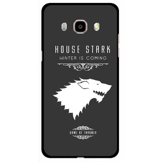 Snooky Printed House Stark Mobile Back Cover For Samsung Galaxy J5 (2016) - Multicolour