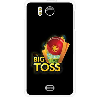 Snooky Printed Big Toss Mobile Back Cover For Micromax Canvas DOODLE A111 - Multicolour