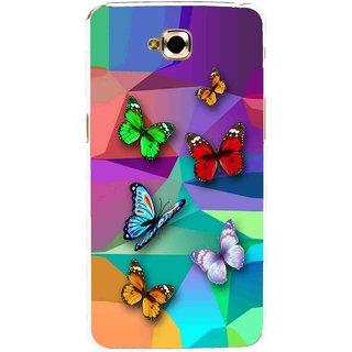 Snooky Printed Trendy Buterfly Mobile Back Cover For Lg G Pro Lite - Multi